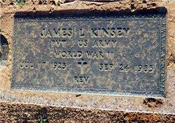 Rev James Lafayette Jimmy Kinsey