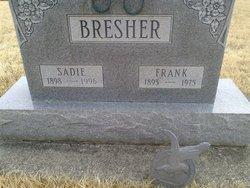 Sadie A. <i>Oler</i> Bresher