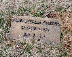 Robert Henderson Borders, Sr