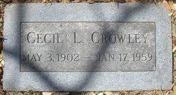 Cecil L Crowley
