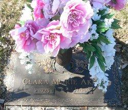 Clara Marie <i>Dovel</i> Akers