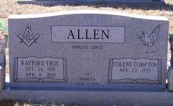 Rayford Troy Allen