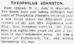 Pvt Theophilus Johnston