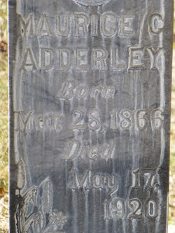 Maurice Charles Adderley