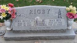 Elva Fern <i>Bennett</i> Rigby