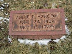 Anna E. Annie <i>Cramer</i> Ashcom
