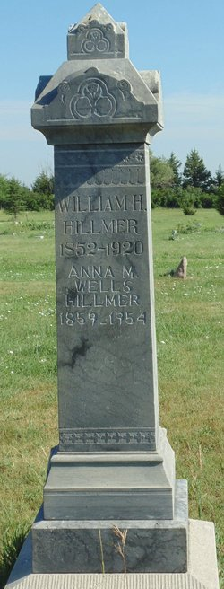 Anna Maria <i>Wells</i> Hillmer