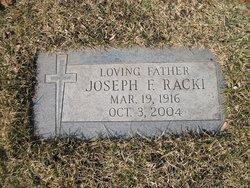 Joseph F Racki