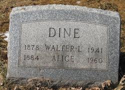 Alice <i>Schultz</i> Dine