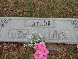 Gladys Coreen <i>Muston</i> Taylor