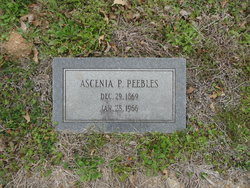 Ascenia Lorena Cenie <i>Parker</i> Peebles