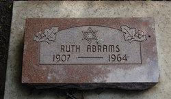 Ruth Abrams