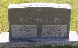 Edith Bachrach Bendorf