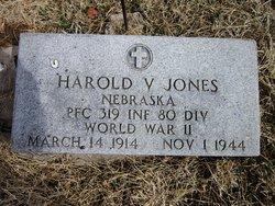PFC Harold V Jones