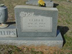 Clara Bertha Bertie <i>Smith</i> Phillips