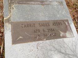 Carrie <i>Sauls</i> Ayers