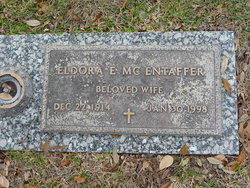 Eldora E <i>Binneboese</i> McEntaffer