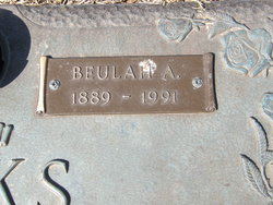 Beulah Anna <i>Gallagher</i> Banks