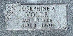 Josephine W. <i>Wirt</i> Volle