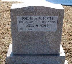 Dorothea M <i>Francis</i> Fortes