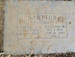 Alexander Alex Hampton, Jr