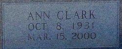 Ann L <i>Clark</i> Bailey