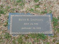 Ruth K Saunders