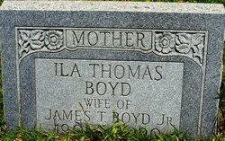 Ila Gray <i>Thomas</i> Boyd