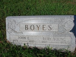 Ruby <i>Young</i> Boyes