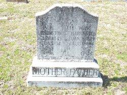 Angeline Elizabeth Frances <i>Parker</i> Harrington