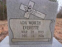 Ada <i>Worth</i> Everette