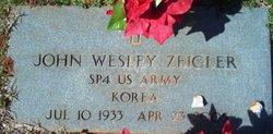 John Wesley Red Zeigler