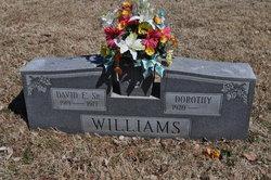 David E Williams, Sr