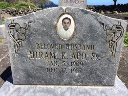 Hiram K. Apo, Sr