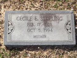 Cecile E Starling