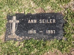 Anna Mardene Ann <i>Reimer</i> Seiler