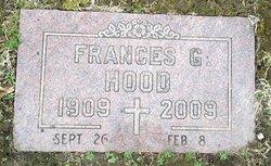 Frances Gertrude <i>Webb</i> Hood