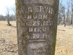 William Adolphus Ervin