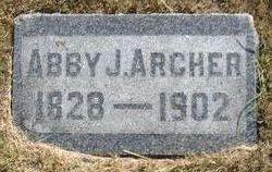 Abigail Jennie Abby <i>Moore</i> Archer