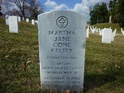 Capt Martha Jane <i>Cone</i> Kelsey