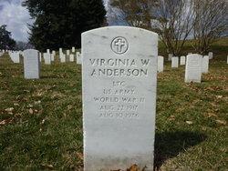 Virginia W Anderson