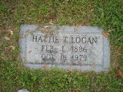 Hattie Elizabeth <i>Thomas</i> Logan