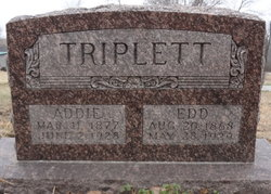 Addie <i>Brock</i> Triplett