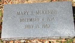 Mary J McKenzie