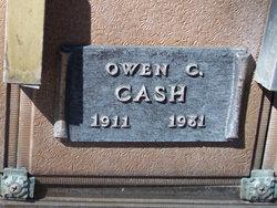 Owen C Cash