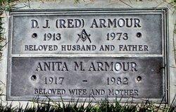 Anita M <i>Baker</i> Armour