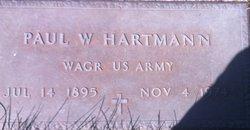 Paul W Hartmann