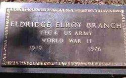 Eldridge E. Buddy Branch