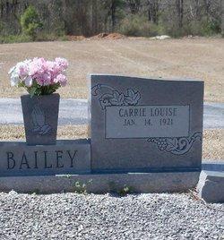 Carrie Louise Bailey