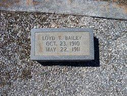 Loyd T. Bailey